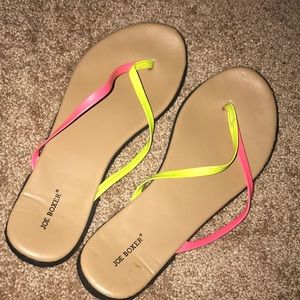 f28e2beb1d650e Neon sandals from JoeBoxer size 7.5-8